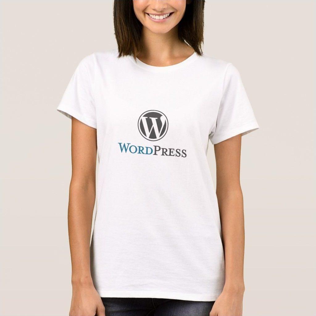WordPress 女装T恤