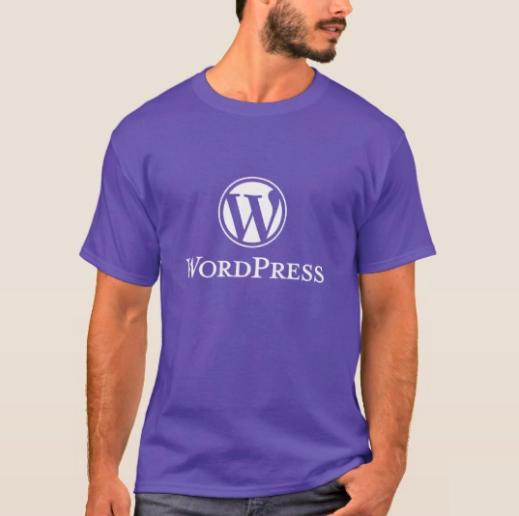 WordPress 男装T恤